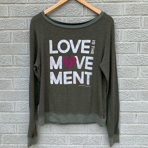 Spiritual Gangster Love is the Movement Sweatshirt